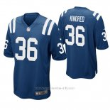 Camiseta NFL Game Hombre Indianapolis Colts Derrick Kindred Azul