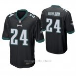 Camiseta NFL Game Hombre Philadelphia Eagles Jordan Howard Negro