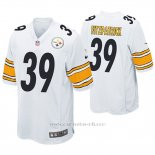 Camiseta NFL Game Hombre Pittsburgh Steelers Minkah Fitzpatrick Blanco
