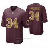 Camiseta NFL Game Hombre Washington Redskins Wendell Smallwood Alternato Rojo