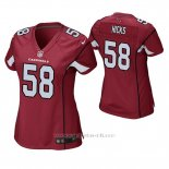 Camiseta NFL Game Mujer Arizona Cardinals Jordan Hicks Rojo