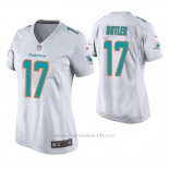 Camiseta NFL Game Mujer Dolphins Brice Butler Blanco