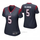 Camiseta NFL Game Mujer Houston Texans Aj McCarron Azul