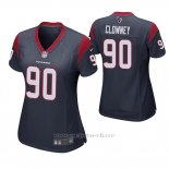 Camiseta NFL Game Mujer Houston Texans Jadeveon Clowney Azul
