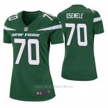 Camiseta NFL Game Mujer New York Jets Kelechi Osemele Verde