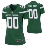 Camiseta NFL Game Mujer New York Jets Personalizada Game Verde