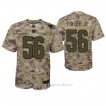Camiseta NFL Game Nino Los Angeles Rams Dante Fowler Jr. Camuflaje 2018 Salute To Service