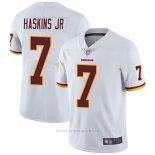 Camiseta NFL Game Washington Redskins 7 Dwayne Haskins Jr Blanco