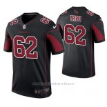 Camiseta NFL Legend Hombre Arizona Cardinals Charley Trippi Negro Color Rush