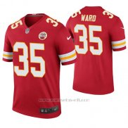 Camiseta NFL Legend Hombre Kansas City Chiefs Charvarius Ward Rojo Color Rush