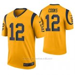Camiseta NFL Legend Hombre St Louis Rams Brandin Cooks Oro Color Rush