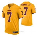 Camiseta NFL Legend Washington Redskins Dwayne Haskins Color Rush Amarillo