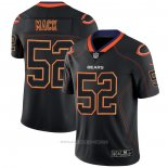 Camiseta NFL Limited Chicago Bears Mack Lights Out Negro