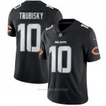 Camiseta NFL Limited Chicago Bears Trubisky Black Impact