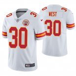 Camiseta NFL Limited Hombre Charcandrick West Chiefs White Vapor Untouchable Limited Jersey
