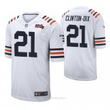 Camiseta NFL Limited Hombre Chicago Bears Ha Ha Clinton Dix 100th Season Classic Blanco