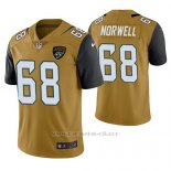 Camiseta NFL Limited Hombre Jacksonville Jaguars Andrew Norwell Oro Color Rush