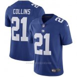 Camiseta NFL Limited Hombre New York Giants 21 Collins Azul