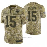 Camiseta NFL Limited Hombre New York Jets Josh Mccown Camuflaje 2018 Salute To Service