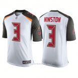 Camiseta NFL Limited Hombre Tampa Bay Buccaneers Jameis Winston Speed Machine Limited Blanco