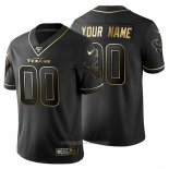 Camiseta NFL Limited Houston Texans Personalizada Golden Edition Negro
