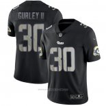 Camiseta NFL Limited Los Angeles Rams Gurley ll Black Impact