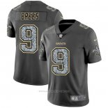 Camiseta NFL Limited New Orleans Saints Brees Static Fashion Gris
