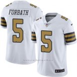 Camiseta New Orleans Saints Forbath Blanco Nike Legend NFL Hombre