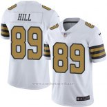 Camiseta New Orleans Saints Hill Blanco Nike Legend NFL Hombre