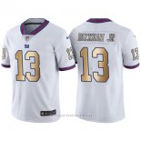 Camiseta New York Giants Beckham Jr Blanco Nike Gold Legend NFL Hombre