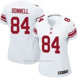 Camiseta New York Giants Donnell Blanco Nike Game NFL Mujer