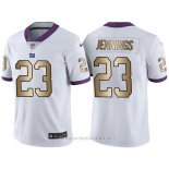 Camiseta New York Giants Jennings Blanco Nike Gold Legend NFL Hombre