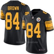 Camiseta Pittsburgh Steelers Brown Negro Nike Legend NFL Hombre