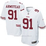 Camiseta San Francisco 49ers Armstead Blanco Nike Game NFL Hombre