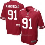 Camiseta San Francisco 49ers Armstead Rojo Nike Game NFL Hombre