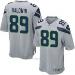 Camiseta Seattle Seahawks Baldwin Gris Nike Game NFL Nino