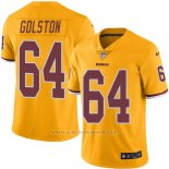 Camiseta Washington Redskins Golston Amarillo Nike Legend NFL Hombre