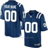 Camisetas NFL Limited Hombre Indianapolis Colts Personalizada Azul