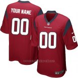 Camisetas NFL Replica Nino Houston Texans Personalizada Rojo