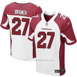 Camiseta Arizona Cardinals Branch Rojo y Blanco Nike Elite NFL Hombre