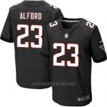Camiseta Atlanta Falcons Alford Negro Nike Elite NFL Hombre
