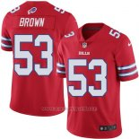 Camiseta Buffalo Bills Brown Rojo Nike Legend NFL Hombre