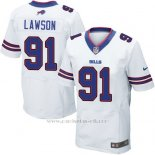 Camiseta Buffalo Bills Lawson Blanco Nike Elite NFL Hombre