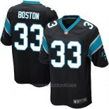 Camiseta Carolina Panthers Boston Negro Nike Game NFL Hombre