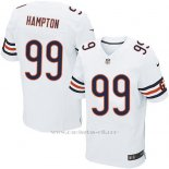 Camiseta Chicago Bears Hampton Blanco Nike Elite NFL Hombre