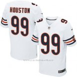 Camiseta Chicago Bears Houston Blanco Nike Elite NFL Hombre