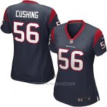 Camiseta Houston Texans Cushing Negro Nike Game NFL Mujer