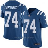 Camiseta Indianapolis Colts Castonzo Azul Nike Legend NFL Hombre