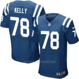 Camiseta Indianapolis Colts Kelly Azul Nike Elite NFL Hombre