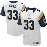 Camiseta Los Angeles Rams Gaines Blanco Nike Elite NFL Hombre